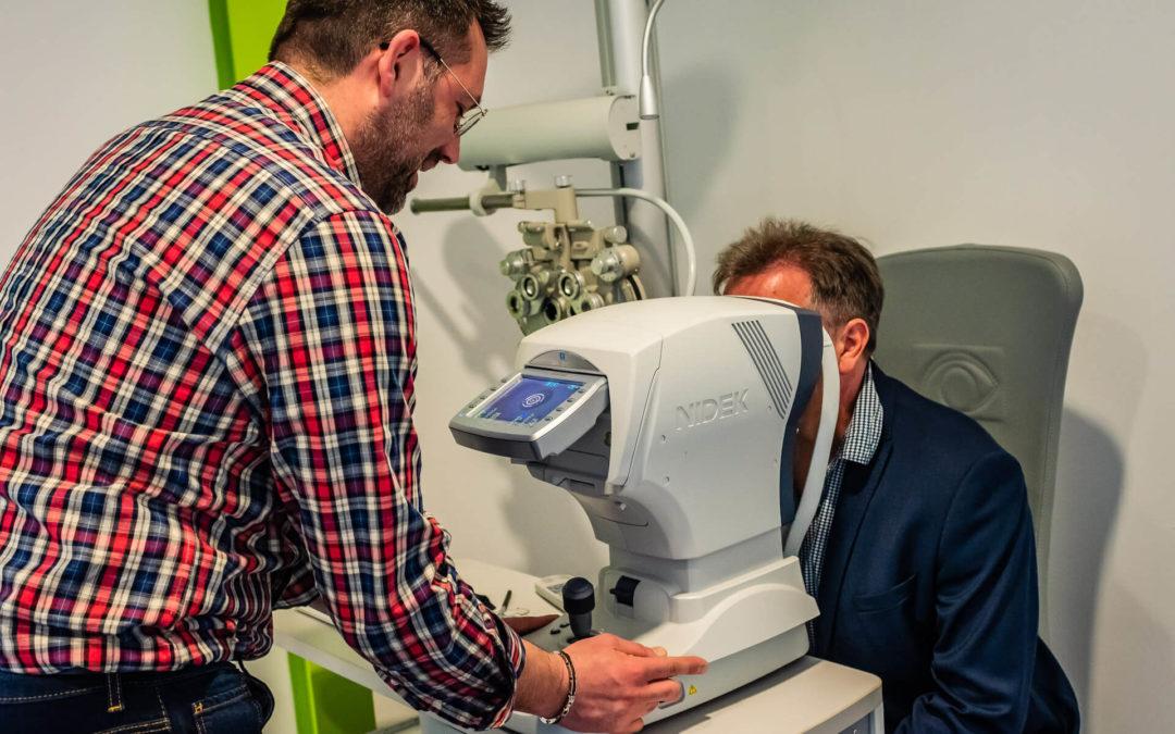 Test de vue opticien à Épinal